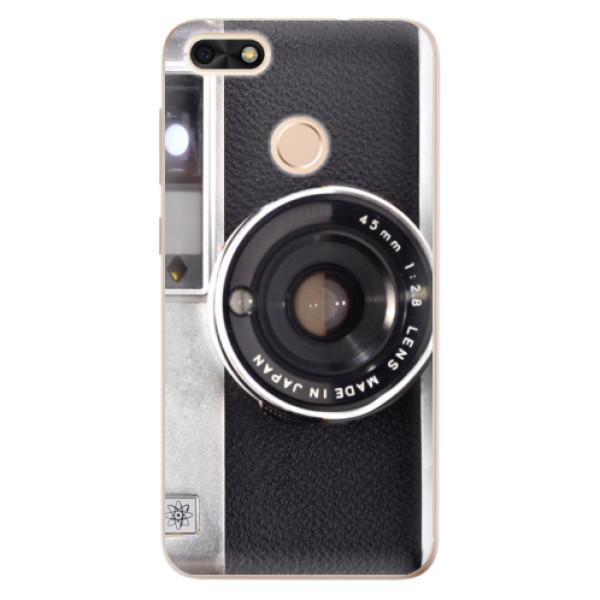 Odolné silikónové puzdro iSaprio - Vintage Camera 01 - Huawei P9 Lite Mini