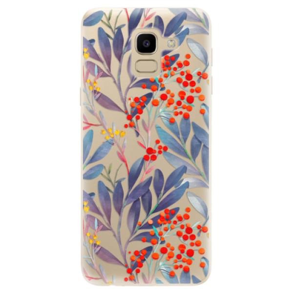 Odolné silikónové puzdro iSaprio - Rowanberry - Samsung Galaxy J6