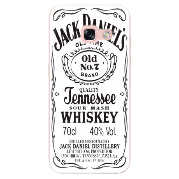 Odolné silikónové puzdro iSaprio - Jack White - Samsung Galaxy A3 2017