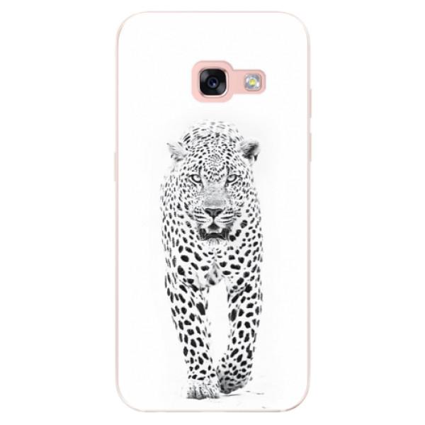 Odolné silikónové puzdro iSaprio - White Jaguar - Samsung Galaxy A3 2017