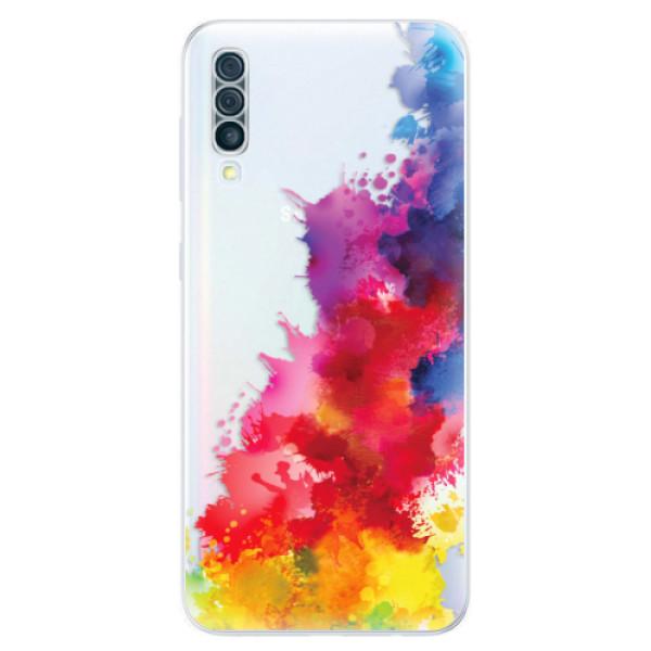 Odolné silikónové puzdro iSaprio - Color Splash 01 - Samsung Galaxy A50