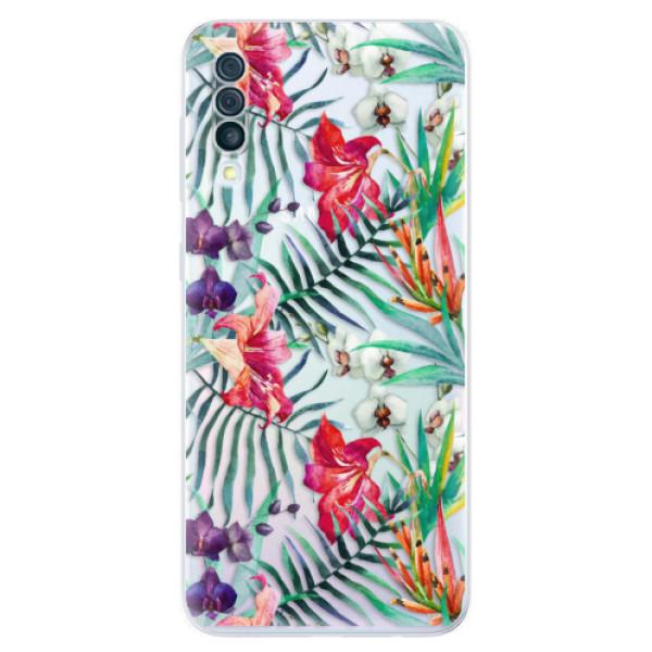 Odolné silikónové puzdro iSaprio - Flower Pattern 03 - Samsung Galaxy A50