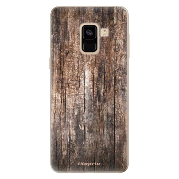 Odolné silikónové puzdro iSaprio - Wood 11 - Samsung Galaxy A8 2018