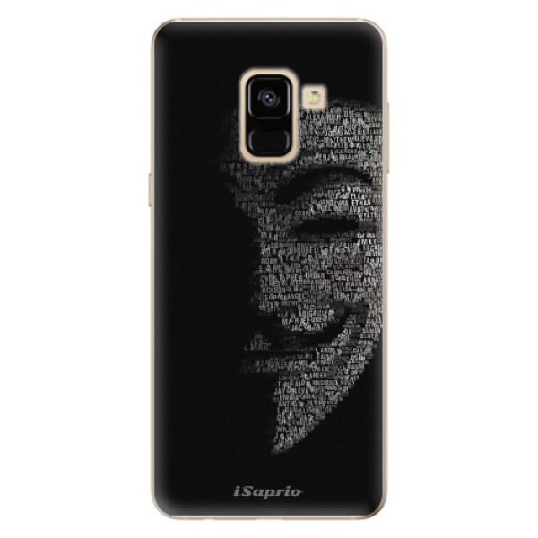 Odolné silikónové puzdro iSaprio - Vendeta 10 - Samsung Galaxy A8 2018