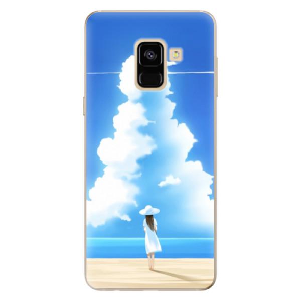 Odolné silikónové puzdro iSaprio - My Summer - Samsung Galaxy A8 2018
