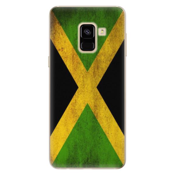 Odolné silikónové puzdro iSaprio - Flag of Jamaica - Samsung Galaxy A8 2018