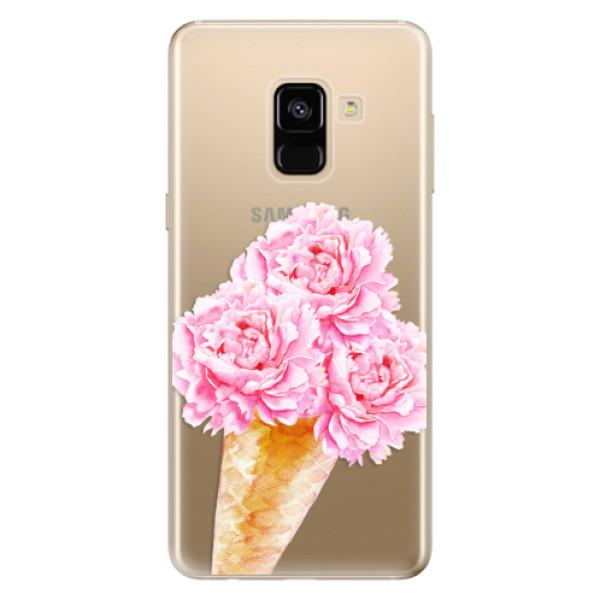 Odolné silikónové puzdro iSaprio - Sweets Ice Cream - Samsung Galaxy A8 2018