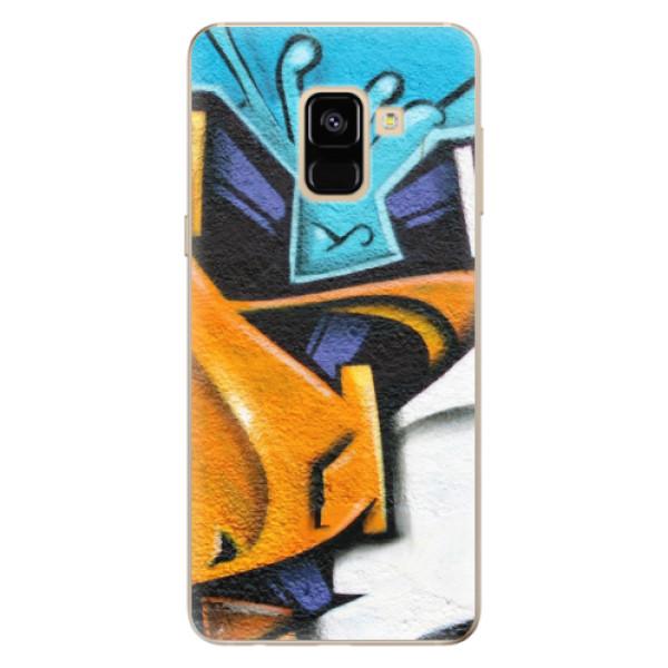 Odolné silikónové puzdro iSaprio - Graffiti - Samsung Galaxy A8 2018