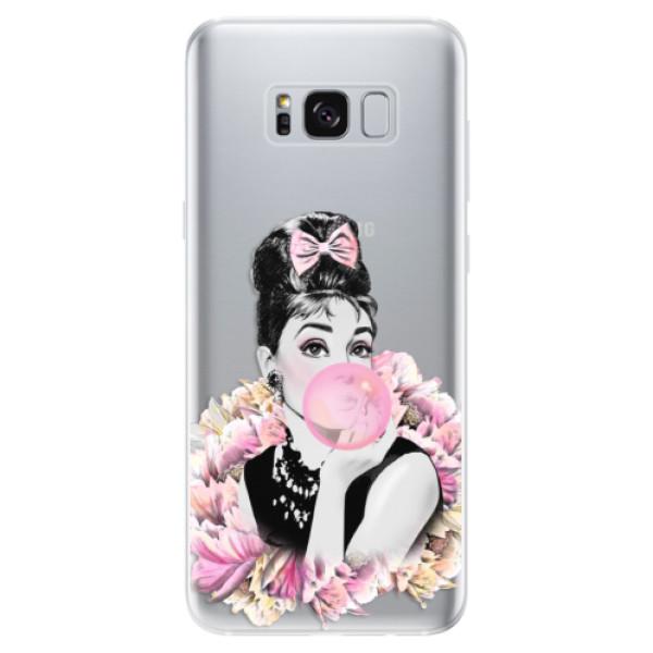 Odolné silikónové puzdro iSaprio - Pink Bubble - Samsung Galaxy S8