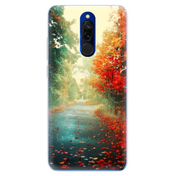 Odolné silikónové puzdro iSaprio - Autumn 03 - Xiaomi Redmi 8