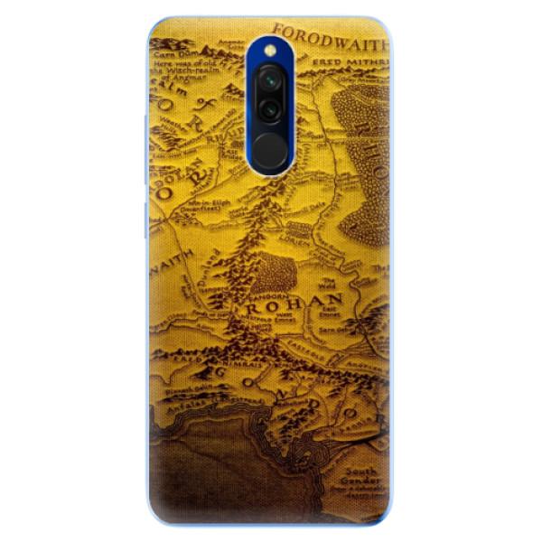 Odolné silikónové puzdro iSaprio - Old Map - Xiaomi Redmi 8