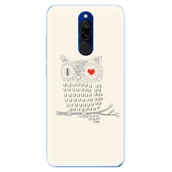 Odolné silikónové puzdro iSaprio - I Love You 01 - Xiaomi Redmi 8