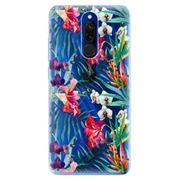 Odolné silikónové puzdro iSaprio - Flower Pattern 03 - Xiaomi Redmi 8