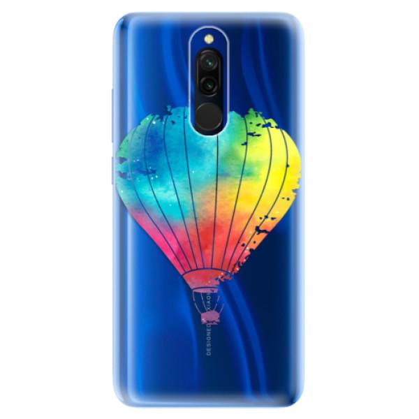 Odolné silikónové puzdro iSaprio - Flying Baloon 01 - Xiaomi Redmi 8