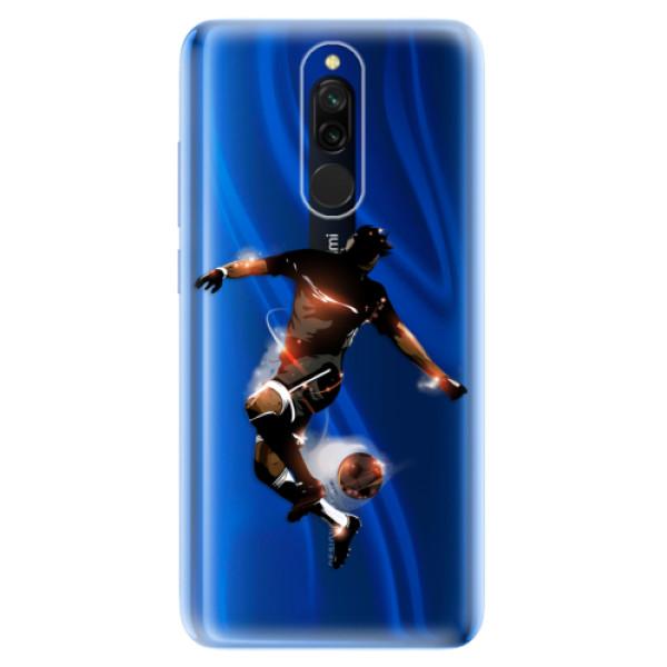 Odolné silikónové puzdro iSaprio - Fotball 01 - Xiaomi Redmi 8