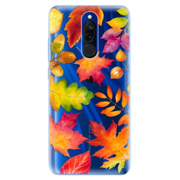 Odolné silikónové puzdro iSaprio - Autumn Leaves 01 - Xiaomi Redmi 8