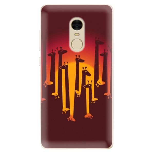 Odolné silikónové puzdro iSaprio - Giraffe 01 - Xiaomi Redmi Note 4
