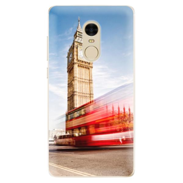 Odolné silikónové puzdro iSaprio - London 01 - Xiaomi Redmi Note 4