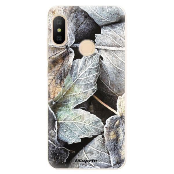 Odolné silikónové puzdro iSaprio - Old Leaves 01 - Xiaomi Mi A2 Lite