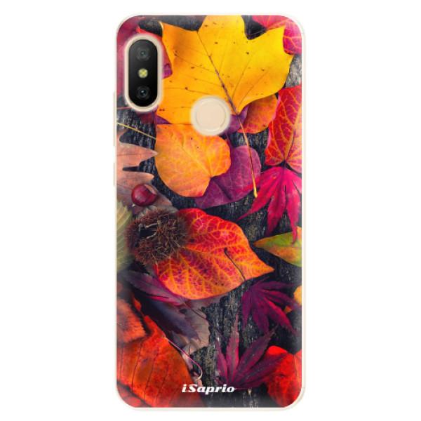 Odolné silikónové puzdro iSaprio - Autumn Leaves 03 - Xiaomi Mi A2 Lite