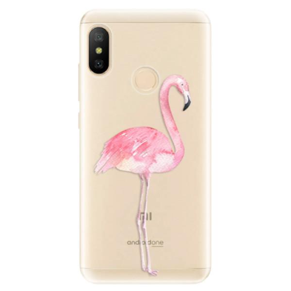 Odolné silikónové puzdro iSaprio - Flamingo 01 - Xiaomi Mi A2 Lite