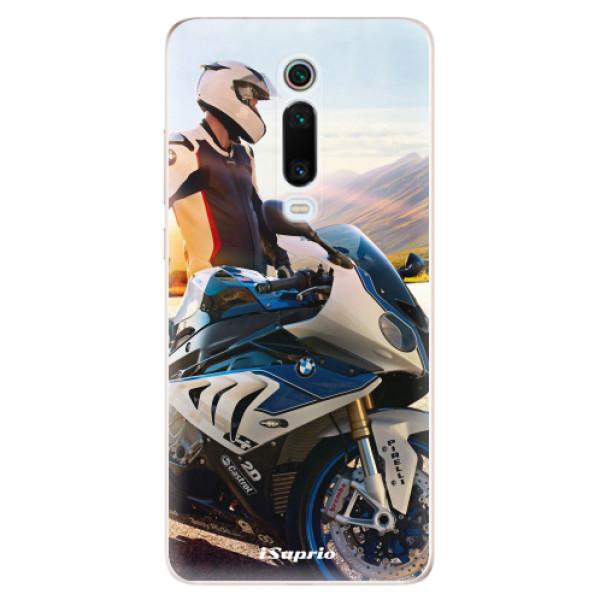 Odolné silikónové puzdro iSaprio - Motorcycle 10 - Xiaomi Mi 9T Pro
