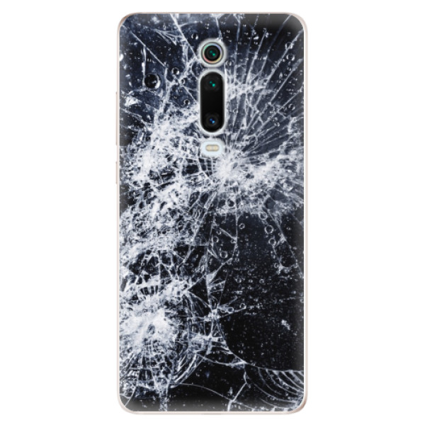 Odolné silikónové puzdro iSaprio - Cracked - Xiaomi Mi 9T Pro