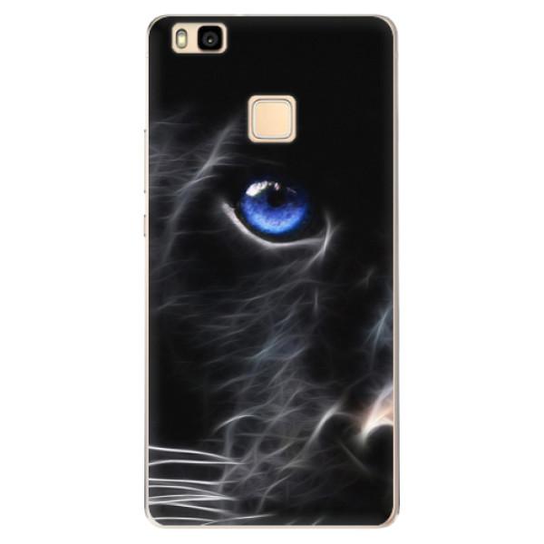 Odolné silikónové puzdro iSaprio - Black Puma - Huawei Ascend P9 Lite