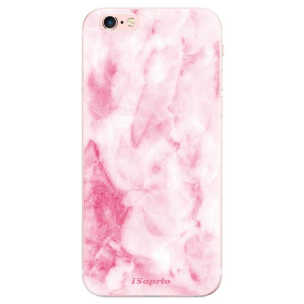 Odolné silikónové puzdro iSaprio - RoseMarble 16 - iPhone 6 Plus/6S Plus