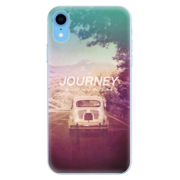 Odolné silikónové puzdro iSaprio - Journey - iPhone XR