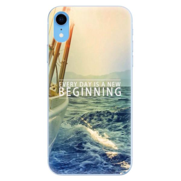 Odolné silikónové puzdro iSaprio - Beginning - iPhone XR