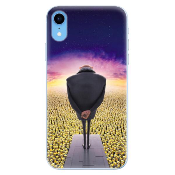 Odolné silikónové puzdro iSaprio - Gru - iPhone XR