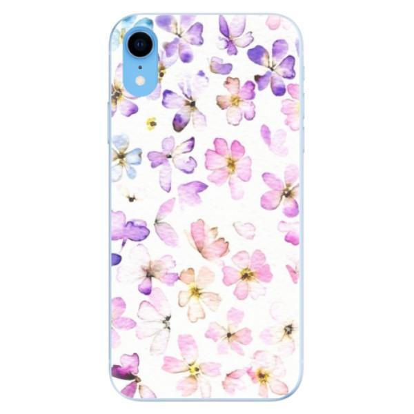 Odolné silikónové puzdro iSaprio - Wildflowers - iPhone XR