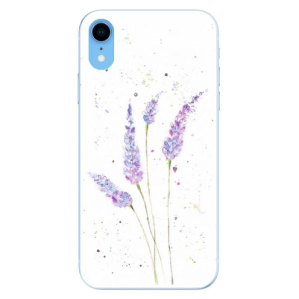 Odolné silikónové puzdro iSaprio - Lavender - iPhone XR