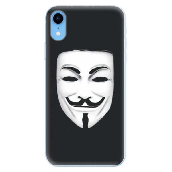 Odolné silikónové puzdro iSaprio - Vendeta - iPhone XR