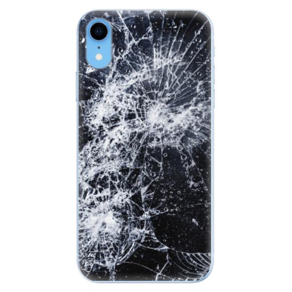 Odolné silikónové puzdro iSaprio - Cracked - iPhone XR