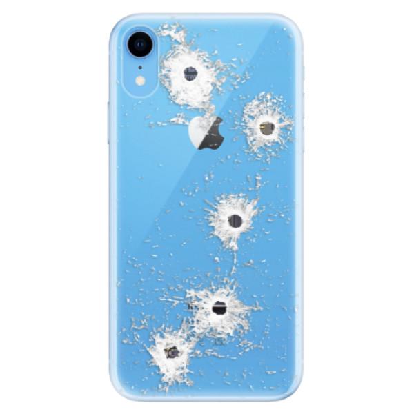 Odolné silikónové puzdro iSaprio - Gunshots - iPhone XR