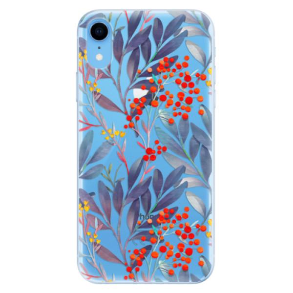 Odolné silikónové puzdro iSaprio - Rowanberry - iPhone XR