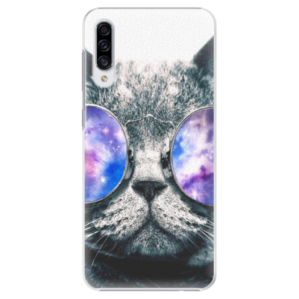 Plastové puzdro iSaprio - Galaxy Cat - Samsung Galaxy A30s