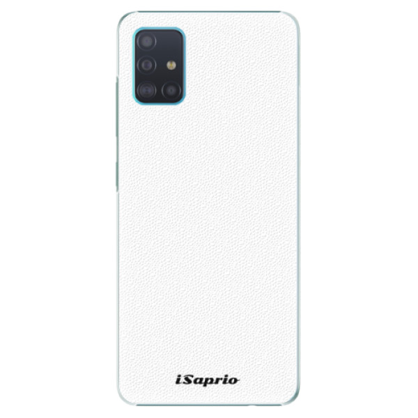 Plastové puzdro iSaprio - 4Pure - bílý - Samsung Galaxy A51