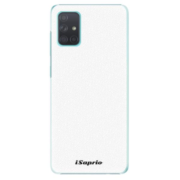 Plastové puzdro iSaprio - 4Pure - bílý - Samsung Galaxy A71