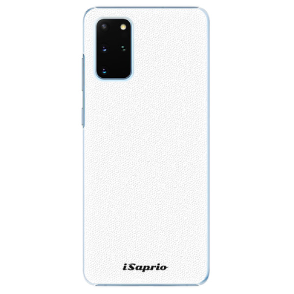 Plastové puzdro iSaprio - 4Pure - bílý - Samsung Galaxy S20+