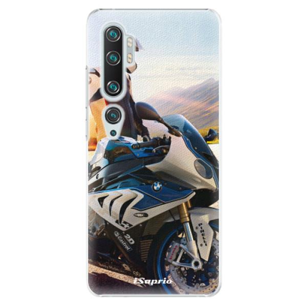 Plastové puzdro iSaprio - Motorcycle 10 - Xiaomi Mi Note 10 / Note 10 Pro
