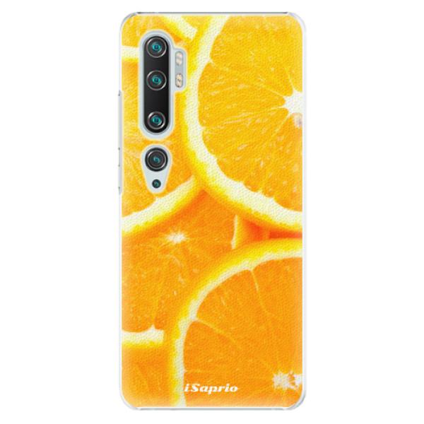 Plastové puzdro iSaprio - Orange 10 - Xiaomi Mi Note 10 / Note 10 Pro