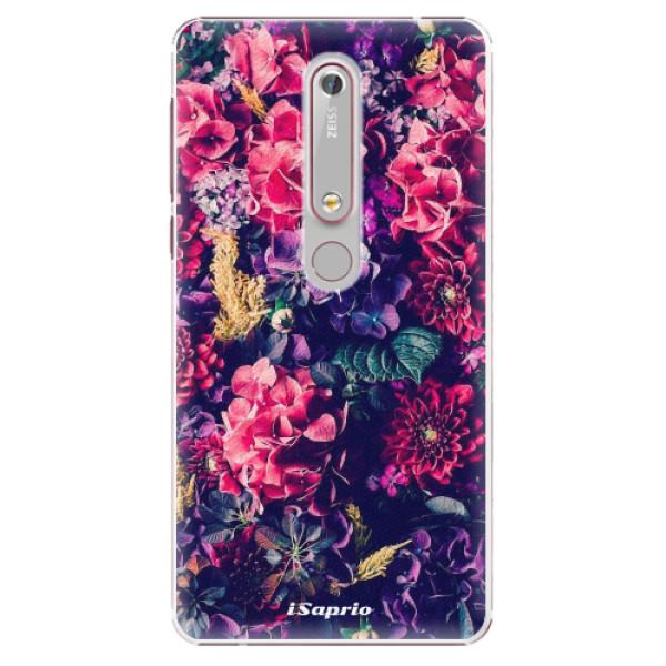 Plastové puzdro iSaprio - Flowers 10 - Nokia 6.1