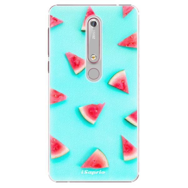 Plastové puzdro iSaprio - Melon Patern 10 - Nokia 6.1