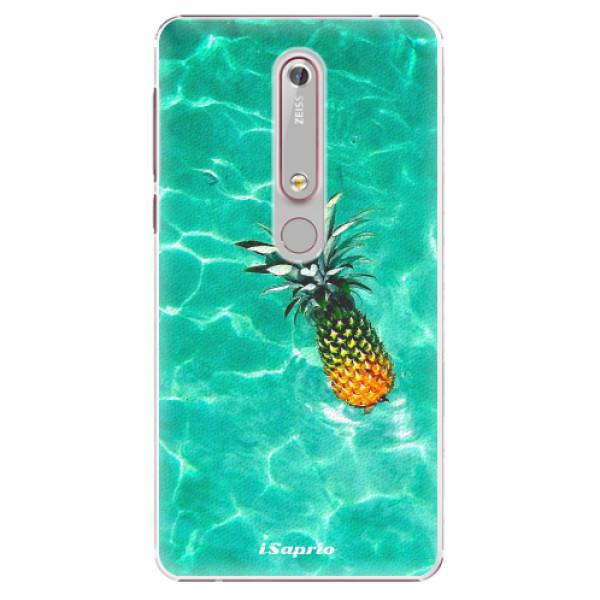 Plastové puzdro iSaprio - Pineapple 10 - Nokia 6.1
