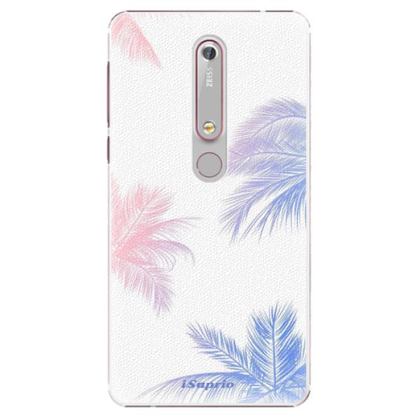 Plastové puzdro iSaprio - Digital Palms 10 - Nokia 6.1