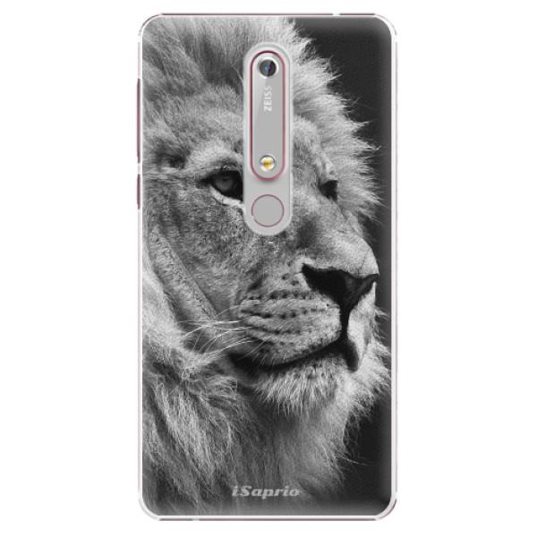 Plastové puzdro iSaprio - Lion 10 - Nokia 6.1