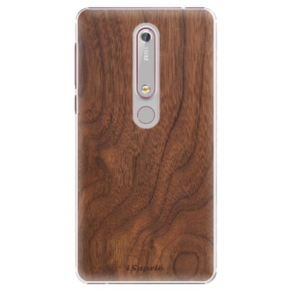 Plastové puzdro iSaprio - Wood 10 - Nokia 6.1